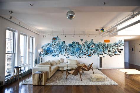 gorgeous indoor graffiti designs   blow  mind