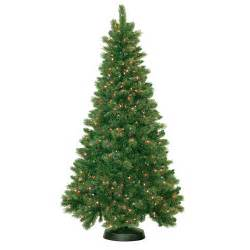 pre lit 7 5 royal mixed artificial christmas tree 600 multi lights walmart com