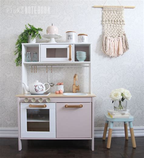 ikea children s kitchen set customizing your ikea duktig play kitchen pink
