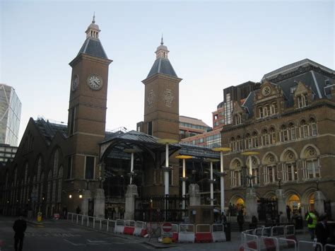 liverpool street station london architecture  architect