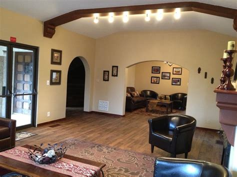 spanish style traditional family room los