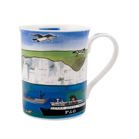 White Cliffs of Dover Mug | Alison Gardiner