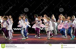 Unidentified Children From Dancing Group Editorial Photo ...