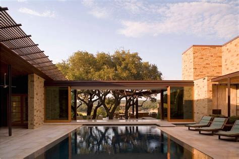 modern courtyard house plans classic luxury nowadays