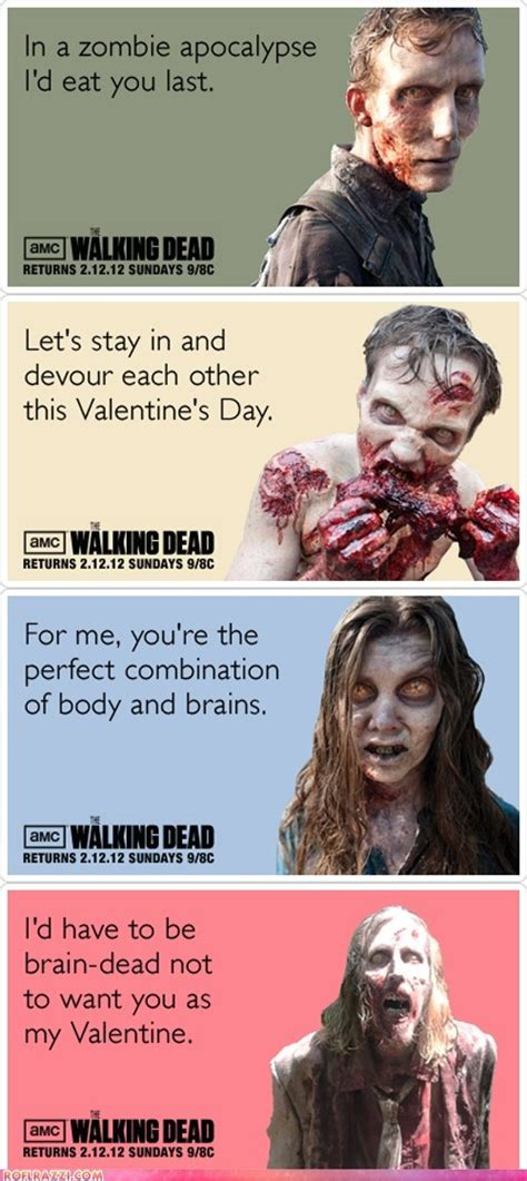 Walking Dead Valentine Meme - 200 best images about all kind and types of zombies on pinterest daryl dixon garden gnomes