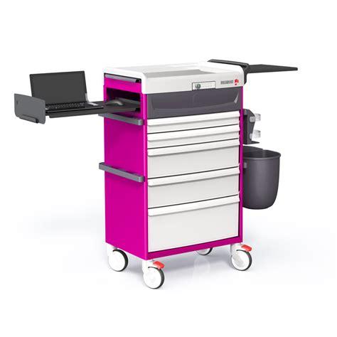 simple mobile plan chariot de soins avec équipement