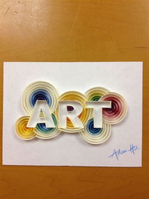 paper quilling quilling letters  numbers paper