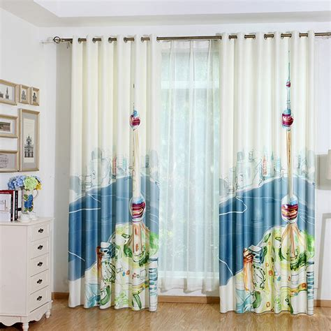 shabby chic curtains blue blue and white shabby chic curtains for windows