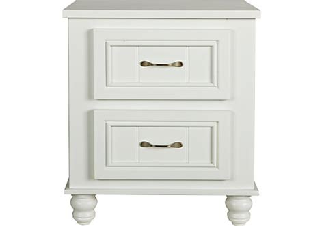Cottage Colors White Nightstand