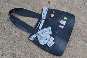 Taschen Selber Machen : selbstgemachte jeanstasche mit tuch aufgeppept taschen old jeans denim jeans und bags ~ Orissabook.com Haus und Dekorationen