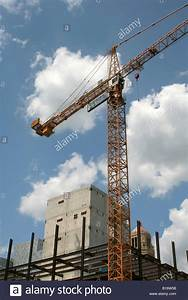 Large Tower Crane On New Construction Rochester Minnesota