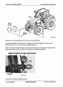 John Deere Tractors 6225  6325  6425  6525 Repair Service