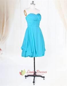 short aqua blue bridesmaid dresses for beach weddinglight With aqua blue dress for wedding