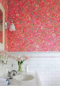 Papier Peint Salle De Bain : papier peint pour salle de bains une s lection originale ~ Dailycaller-alerts.com Idées de Décoration