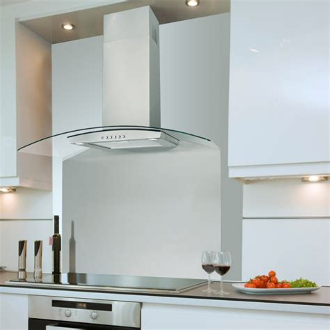 Ceiling Extractor Hood by 90cm Budget Curved Cooker Hood Valore Stainless Steel