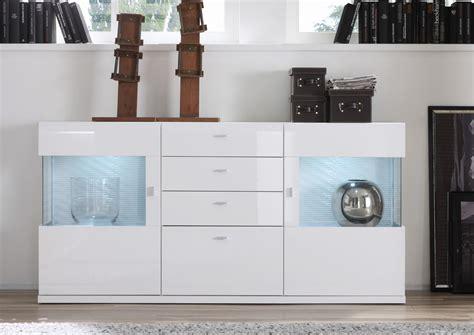 Sideboard Lowboard Weiß Hochglanz Tiefgezogen Digno Ebay