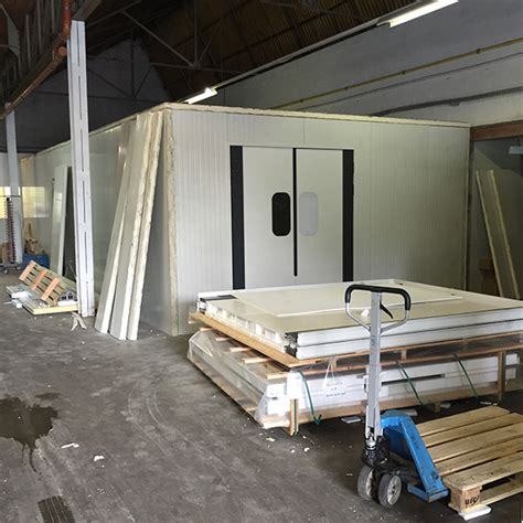 chambre froide construction réfrigération commerciale et industrielle bruxelles wallonie