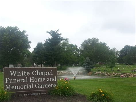 white chapel funeral home and memorial gardens gladstone mo