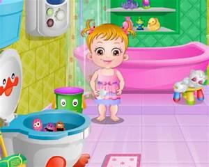baby hazel bathroom hygiene With baby hazel in bathroom
