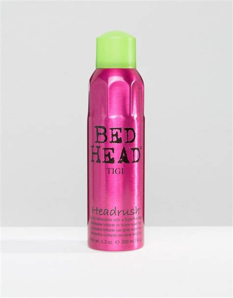 bed headrush tigi bed tigi bed headrush shine mist 200ml