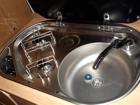 rv sinks kitchen kitchen sink units fitted by c 233 ide cervan conversions 2081