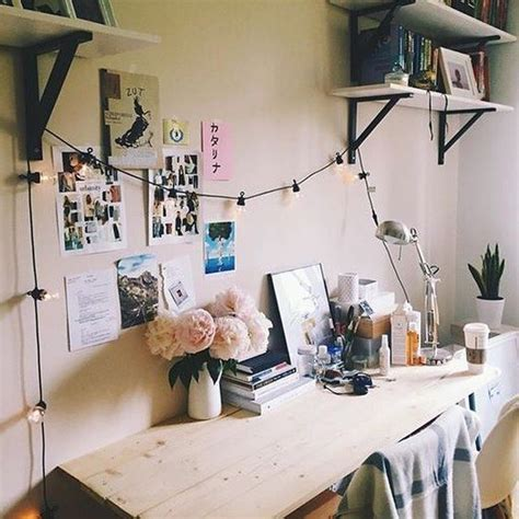 ideas   string lights  home offices digsdigs