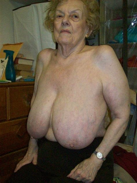 Big Boobs Over 70 Granny