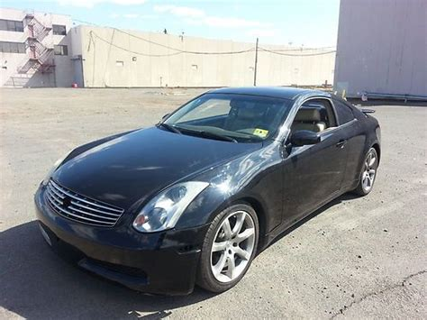 Sell Used 2005 Infiniti G35 Coupe Runs Great Salvage Title