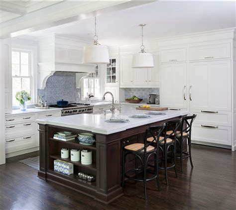 White Traditional Kitchen Design Ideas by 21 Spotless White Traditional Kitchen Designs Godfather