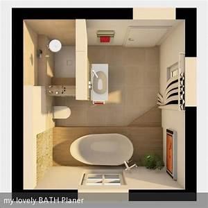 Kleine Bäder Grundrisse : grundriss 3d badezimmer 3d badezimmer und b der ~ Lizthompson.info Haus und Dekorationen
