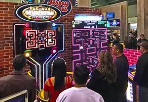 Giant Pac Man & Galaga - Arcade games, Racing simulators ...