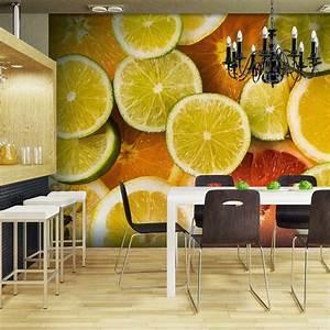 Papier Peint Cuisine Moderne : merveilleux tapisserie cuisine moderne 5 id233e papier ~ Dailycaller-alerts.com Idées de Décoration