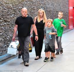 dean norris and wife breaking bad star dean norris enjoys a family day of