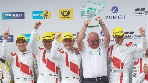Die startaufstellung für das rennen. Audi-Quartett gewinnt 24-Stunden-Rennen auf dem ...