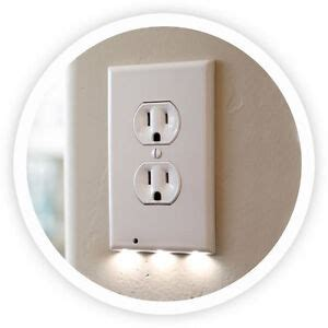new snappower led outlet cover guidelight