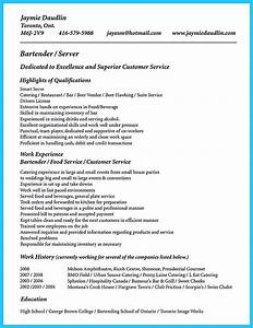 Cover Letter For Call Center Impress The Recruiters With These Bartender Resume Skills