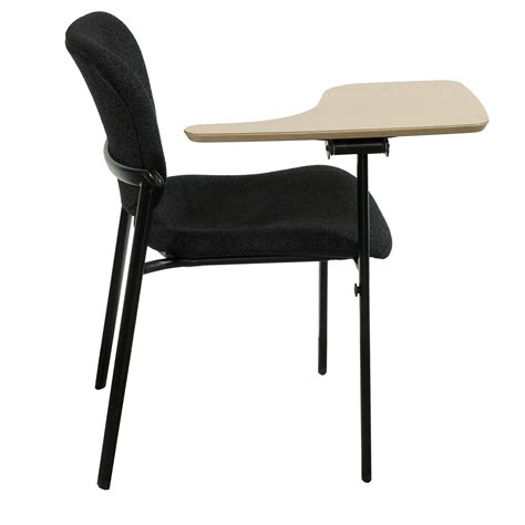 haworth improv used stackable right tablet arm chair