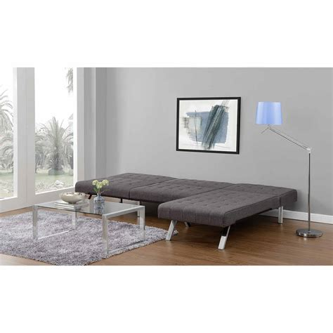 Emily Futon With Chaise Lounger Multiple Colors