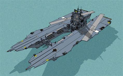 Catamaran Aircraft Carrier Design by Aircraft Carrier Hull Design Bing Images