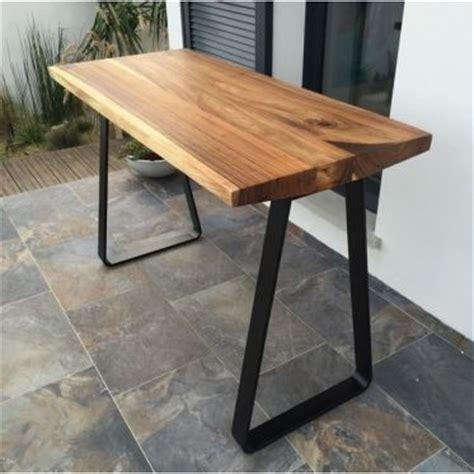 table haute cuisine bois 17 meilleures idées à propos de table haute bois sur
