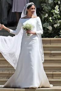 Meghan markle39s wedding dress designer calls ceremony a for Meghan markle wedding dress