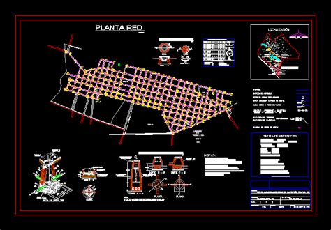sewer system dwg full project  autocad designs cad
