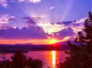 Beautiful Italian Sunset