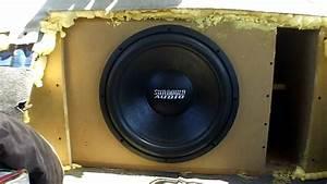 Single 15 U0026quot  Sub Bass Demo W   Nightshade V2 Subwoofer    1