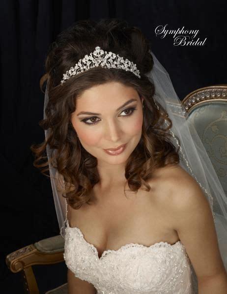 ideas about wedding tiara hair on hair