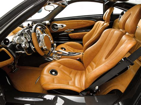 Interior Of The Pagani Huayra, Fastest Car Ever On The Top