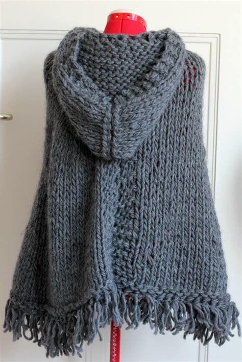 comment faire un pouf en tricot tricoter un poncho en