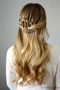 Boho Inspired DIY Half Up Ladder Braid To Try - Styleoholic