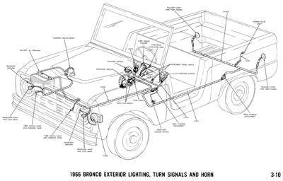 Ford Bronco Wiring Diagram Manual Ebay