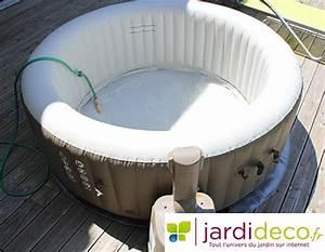 Spa Intex Avis : test du spa gonflable intex bulles rond pure spa ~ Melissatoandfro.com Idées de Décoration